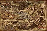CGC Huge Poster - Dark Souls PS3 XBOX 360- Map - DSS004 (24' x 36' (61cm x 91.5cm))