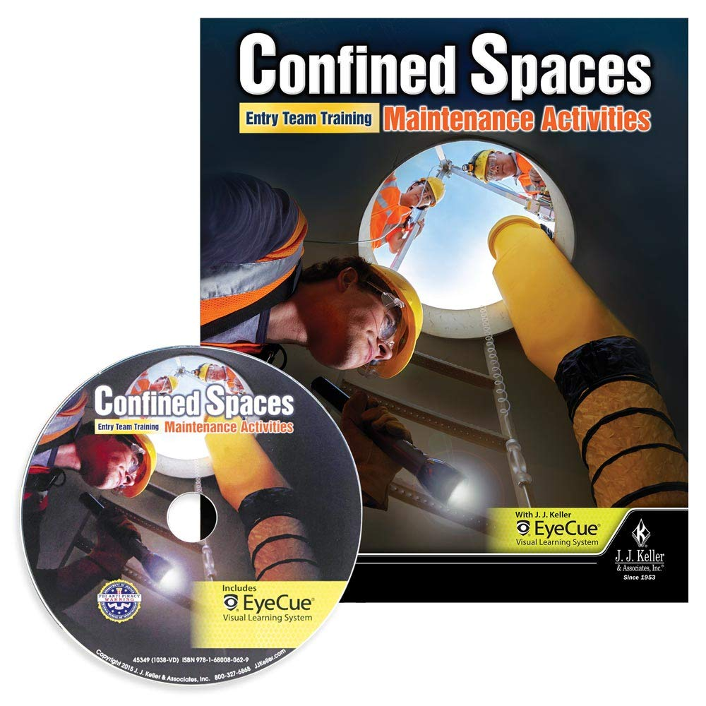 Confined Spaces: Entry Team Training - Maintenance Activities - English & Spanish DVD Training J. J. Keller & Associates