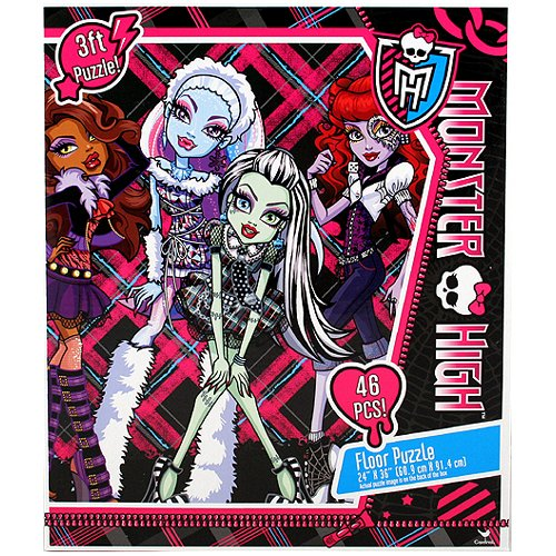 Monster High Doll Character 46 Piece Floor Puzzle by Mattel