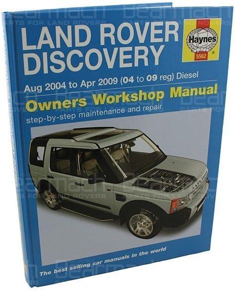 Manual Discovery 3 Part# BA3031B Haynes