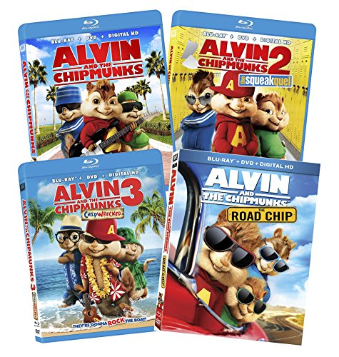 Alvin and the Chipmunks 1-4 Bundle [Blu-ray]