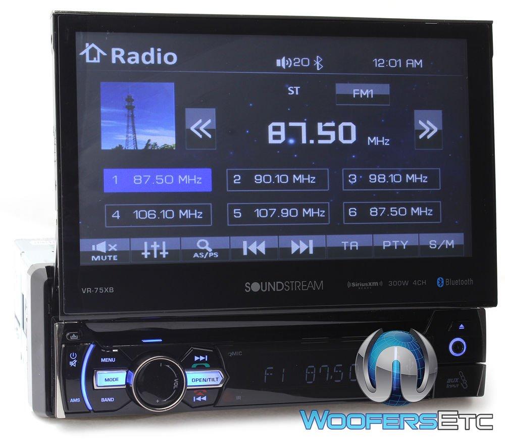 Amazon.com: Soundstream VR-75XB In-Dash 1-DIN 7