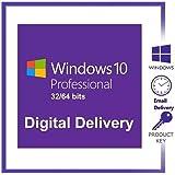 PAPAKOO Windows 10 Pro Clave Key Descarga de Clave De por Vida Entrega en 24 Horas Key