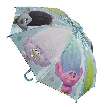 Trolls 2400-326_1 Paraguas infantil 45 cm princesa Poppy Branch