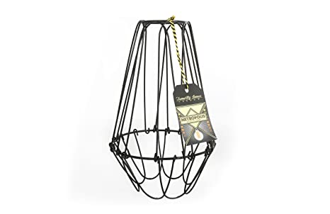 Vintage Cage Wire Lamp Shade Large - - Amazon.com