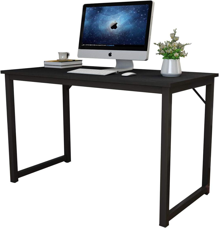 en.casa Schreibtisch 120x60x72cm Bürotisch Computertisch Arbeitstisch PC Tisch