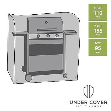 Under Cover Cubierta para barbacoa de cocina, extra grande - Fuerte y Duradera, Cubierta
