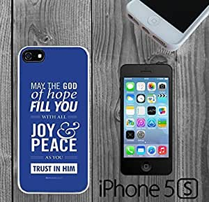 Bible Romans 15 - 13 Verse Custom made Case/Cover/skin FOR iPhone 5/5s