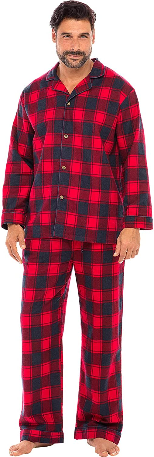 Alexander Del Rossa Family Christmas Pajama Sets, Matching Pajamas for Men, Women, and Children