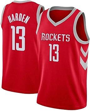 SansFin James Harden, Camiseta de Baloncesto, Cohetes, Nuevo Tejido Bordado, Estilo Deportivo: Amazon.es: Deportes y aire libre