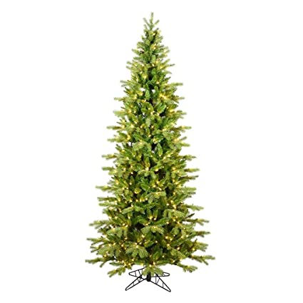 vickerman 573983 65 x 40 slim balsam spruce 850 warm white low voltage