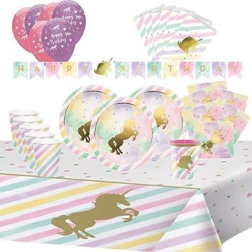 Cumpleaños Unicornio Caballo para Niñas 8 Niños Chica ...