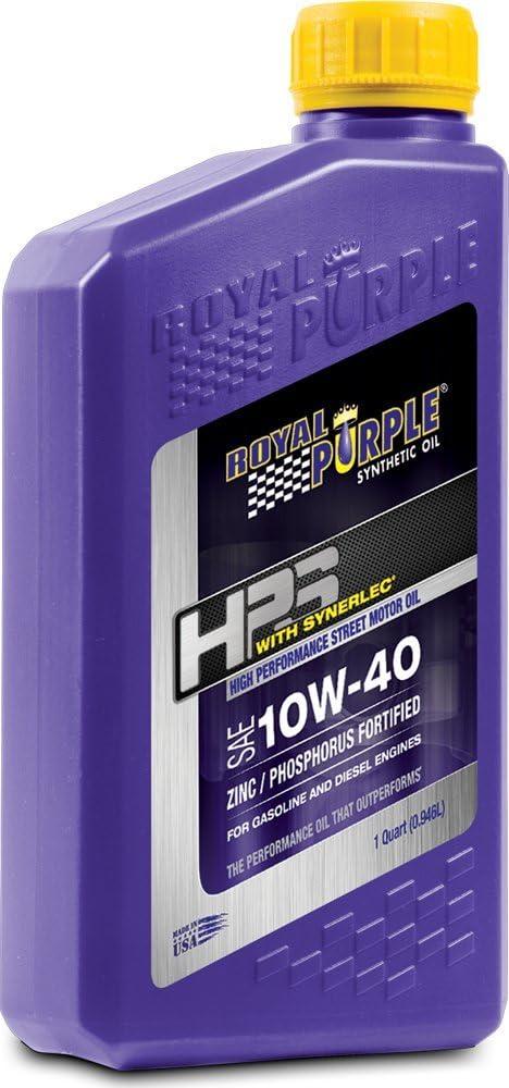 Royal Purple 10W40 High Performance Street Motor Oil}