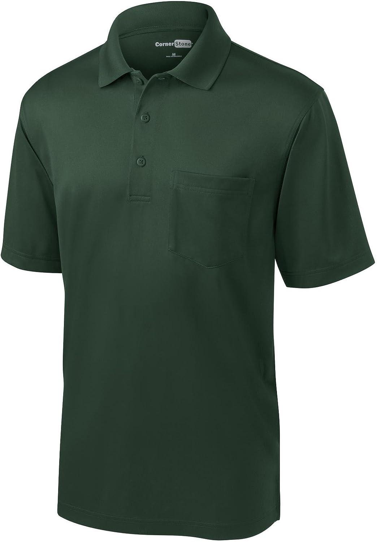 CornerStone Select Snag-Proof Pocket Polo 2XL Dark Green