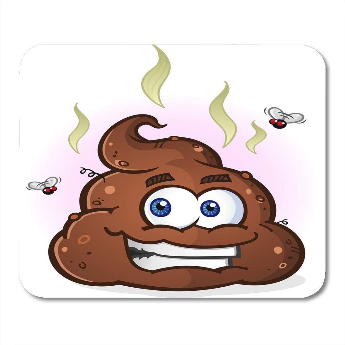 Amazoncom Nakamela Mouse Pads Stink Shit Smelly Pile Of Poop