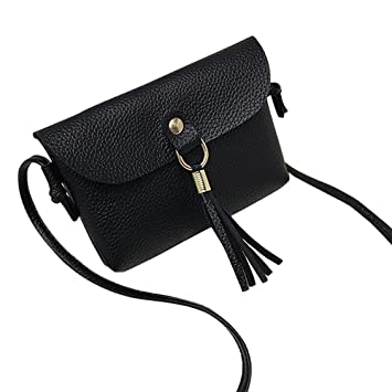 4c73f1cd5bef Amazon.com: ❤ Sunbona Tassel Shoulder Bags Messenger Bag for ...