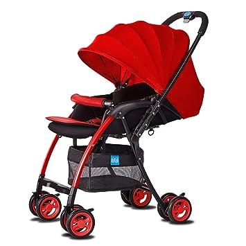 Jia He Cochecito de bebé Carro de bebé Multifuncional Transpirable Carro de bebé Fácil de Usar (Color : 2#) : Amazon.es: Juguetes y juegos