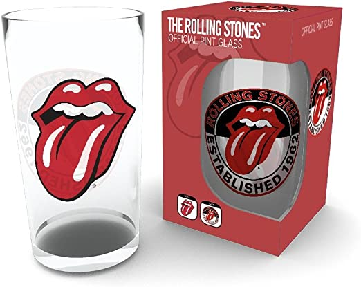 GB Eye LTD, The Rolling Stones, Tongue, Vasos de Pinta: Amazon.es: Hogar