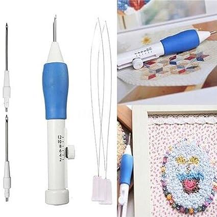 Lápiz bordador mágico Sansee, bordados manuales con aguja de 1,