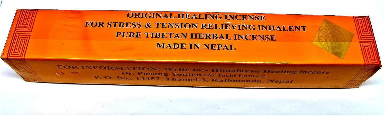 Incenso Tibetano Curativo -2scatole da 20bastoncini ciascuna scatola Himalaya