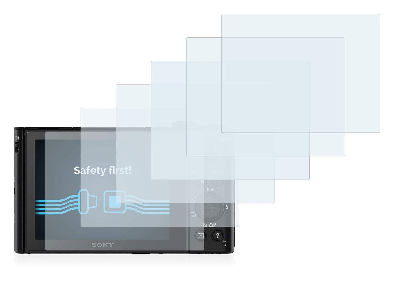 6 Pezzi Savvies Pellicola Protettiva Compatibile con Sony Cyber-Shot DSC-HX90V Protezione Schermo