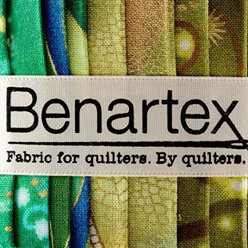 Benartex Kanvas Dance of The Dragonfly 2.5in Pinwheel Strips Metallic, by Benartex (Image #2)