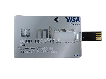 Smirke Novelty MBNA - Memoria USB con Tarjeta de crédito ...