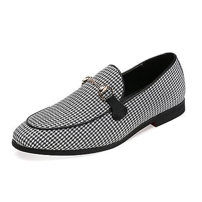 5c7add6e0d53 Chaussure de Conduite au Loisir en Toile Respirant Homme Espadrille de  Ville Basse Plate Lok Fu