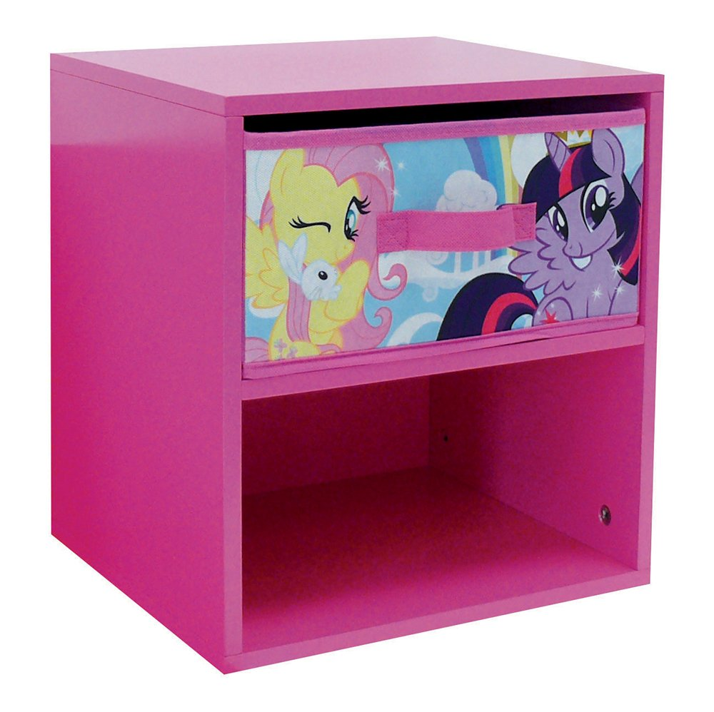 Fun House 712522 My Little Pony Child's Bedside Cabinet with Drawer (33 x 30 x 36 cm CIJEP