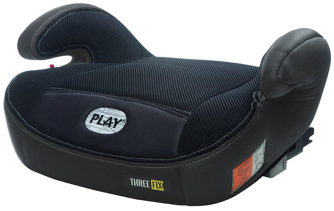 Play Three Fix, Silla de coche grupo 2/3 Isofix, gris/negro 30203