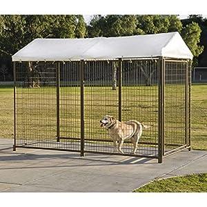 Amazon Com Advantek 4 X 8 Kennel Cover Pet Kennels