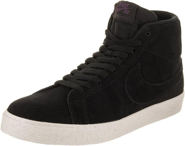 6746315bb116 Nike Men s SB Zoom Blazer Mid Decon Skate Shoe 10 Black