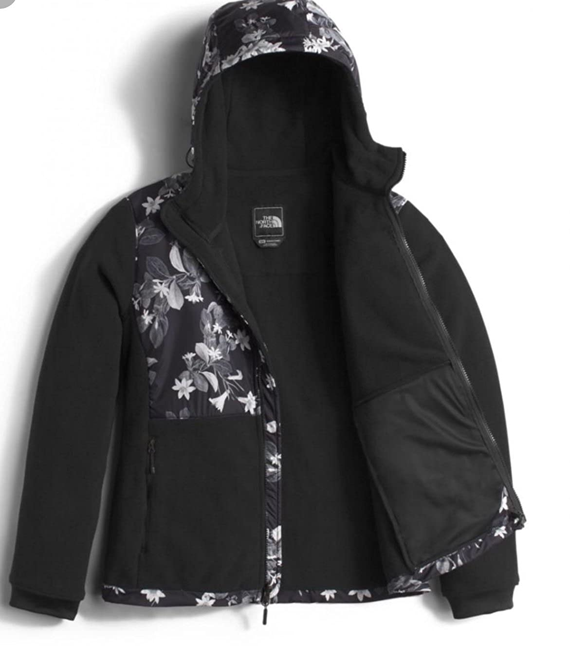 4c8e829ac The North Face Women Denali Hoodie Late Bloomer Print Black Size XS ...