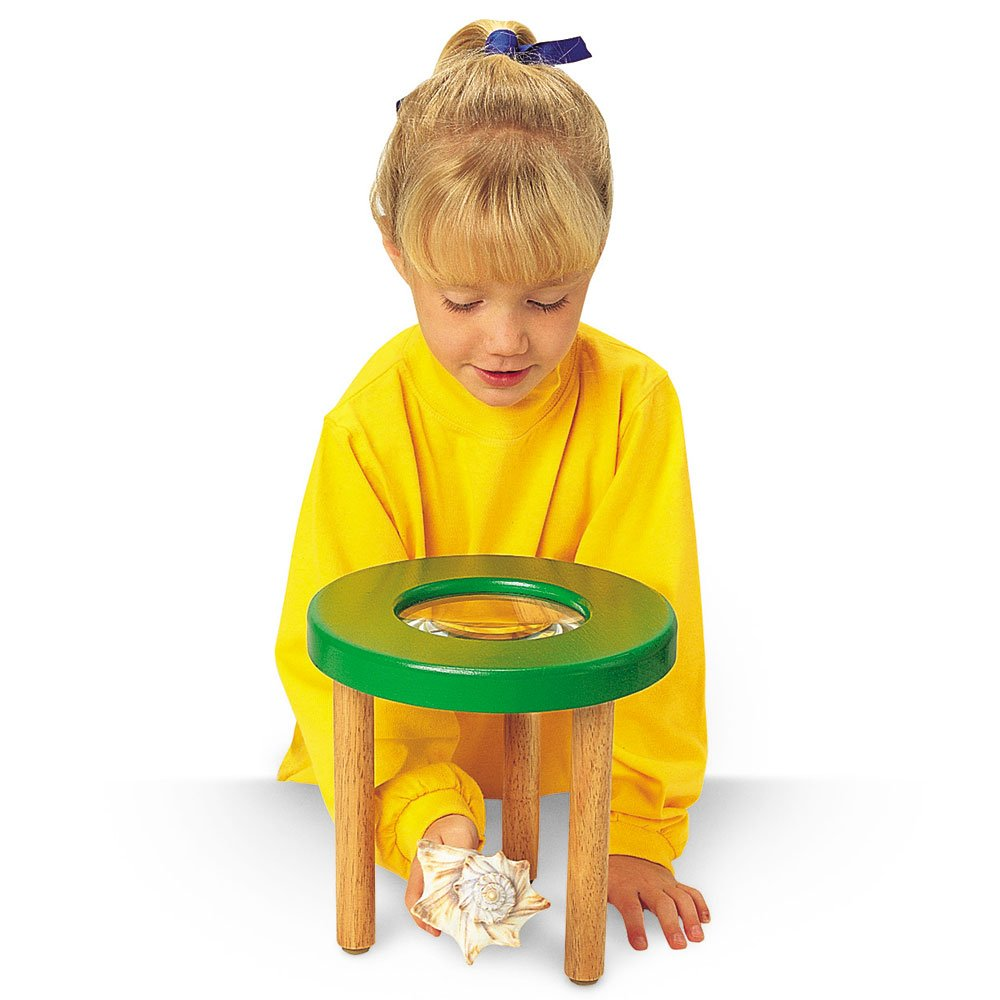 Learning Resources Tabletop Tripod Magnifier, 4x Magnifier by Learning Resources (Image #4)