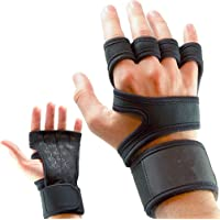 Sports Workout Gloves, Weight Lifting Gloves with Wrist Support for Fitness, Gym Cross Training & Powerlifting