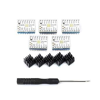 FYSETC - Controlador de motor paso para impresora 3D, TMC2208 V1.2 ...