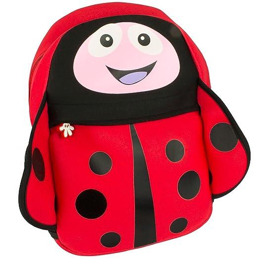 Amazon Com Cute Kids Backpack Fun Cartoon Style Childrens School