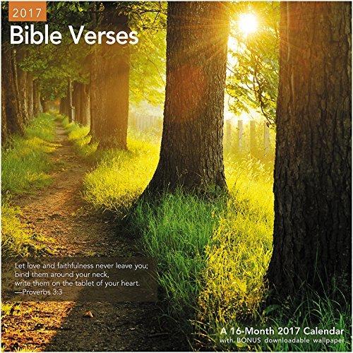 Bible Verses 2017 Wall Calendar