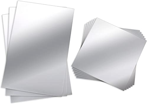 2 x 2 cm chaque Deco mini star miroirs-paquet de vingt