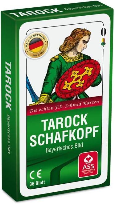 Amazon Com Ass 22570207 Tarock Schafkopf Cl Toys Games
