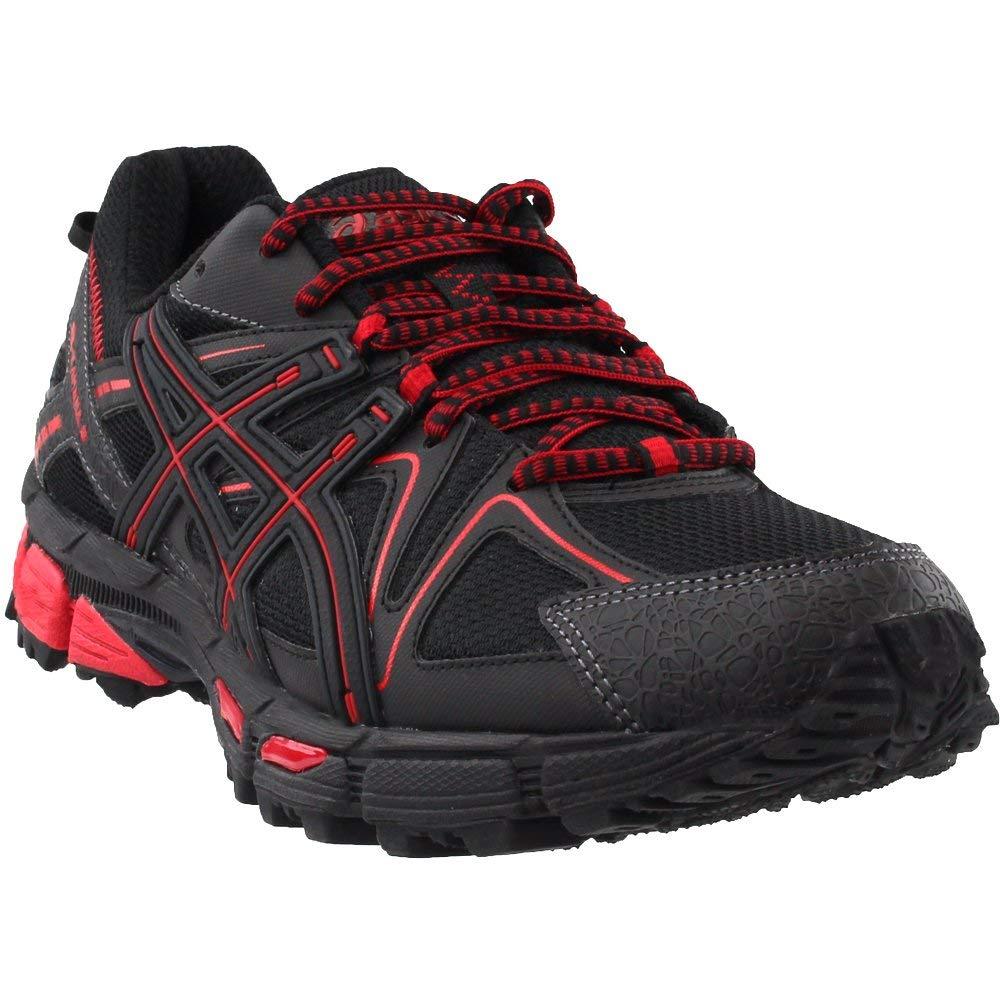 ASICS Mens Gel-Kahana 8 Running Shoe Black/Classic Red/Phantom 6 Medium US