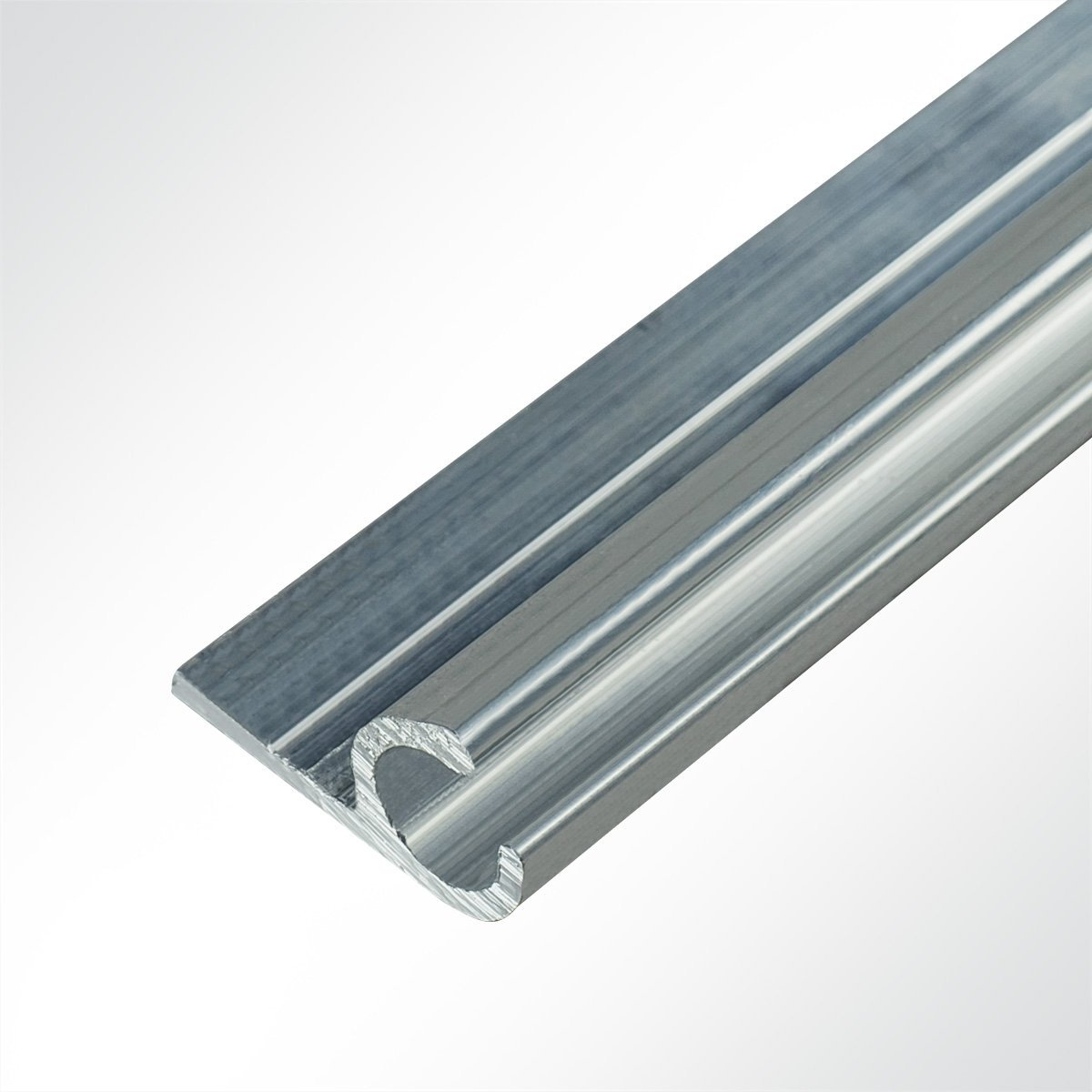 LYSEL® Aluminium Kederschiene Vorzeltkederschiene 15x30mm 1 Meter