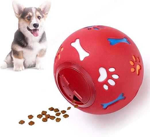 SXJXB Pelota para Perros,Juguetes para Perros, Alimentador de ...