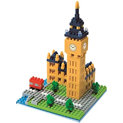 Nanoblock London Big Ben Building Kit: Toys & Games