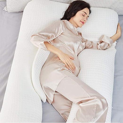CXWNC Almohada para Mujeres Embarazadas Cintura Almohada ...