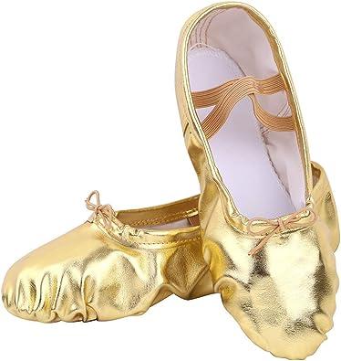Nexete Ballet Shoe Split-Sole Slipper