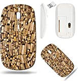 Liili Wireless Mouse White Base Travel 2.4G Wireless Mice with USB Receiver, Click with 1000 DPI for notebook, pc, laptop, computer, mac book sorted firewood ready to burn in the fireplace I