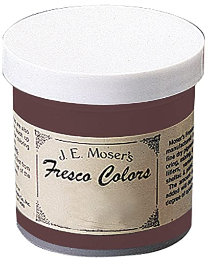 J E Moser S 848040 Finishes Wood Stains Dyes Burnt Sienna