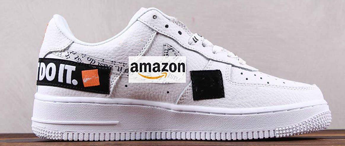 online here official images discount shop Air Force 1 Low Just Do It White AR7719 100 Zapatillas ...