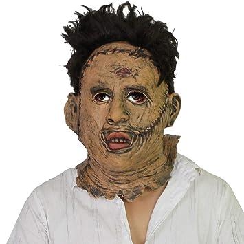 WYBXA Máscara De Miedo De Halloween, Máscara De Asesino De Motosierra, Suministros De Vacaciones